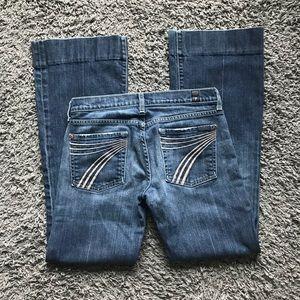 7 for all mankind DOJO FLARE denim jeans 27